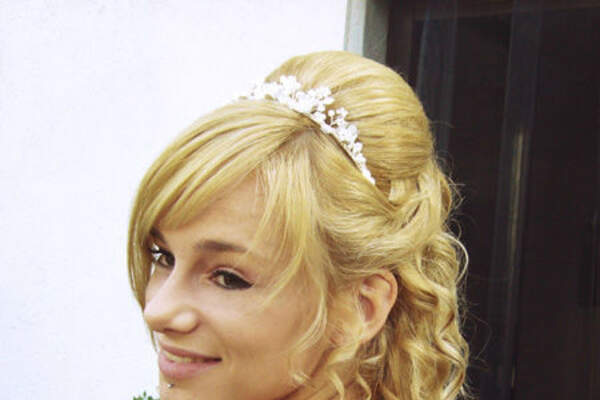 Sylvia Mobil - Brautfrisur