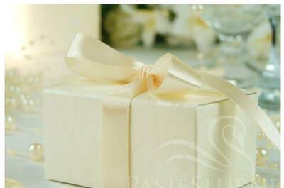 Pudełka na upominki dla gości - Pasje Ślubne