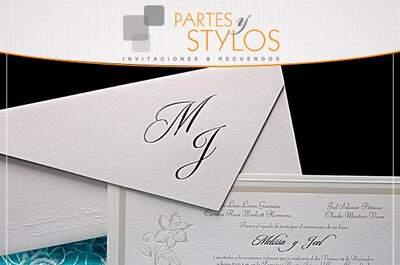 Partes y Stylos