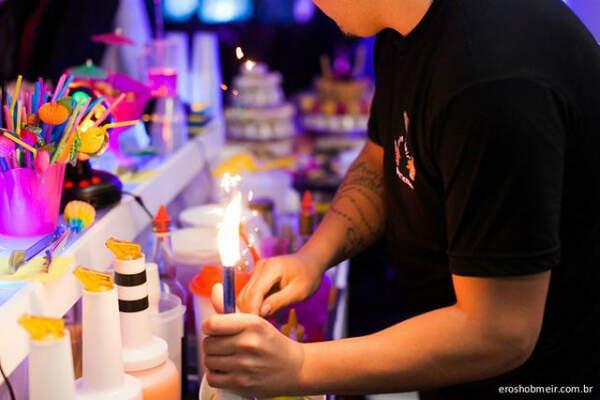 Fire Flair Bartender