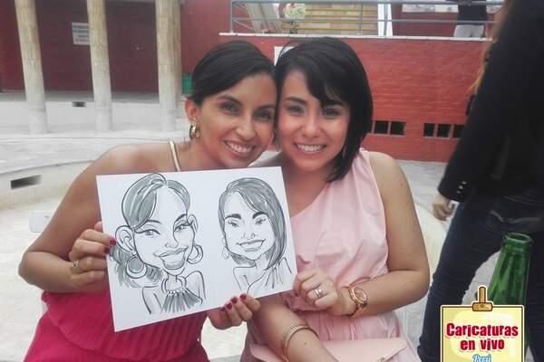 Caricaturas En Vivo Peru