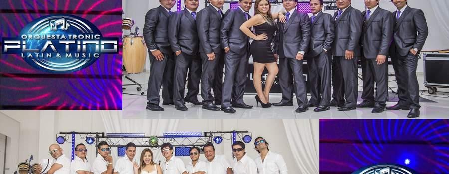Integrantes PLATINO Latin&Music