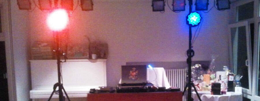 Beispiel: Ihr professioneller DJ, Foto: Baden Musik Xpress.