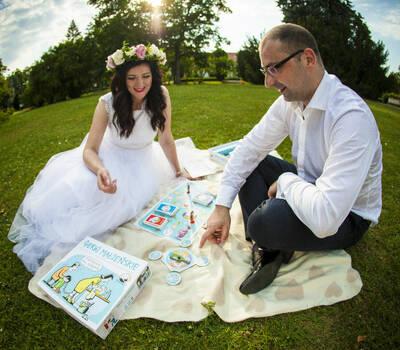 Gierki Małżeńskie to idealny pomysł na prezent dla Młodej Pary;)
