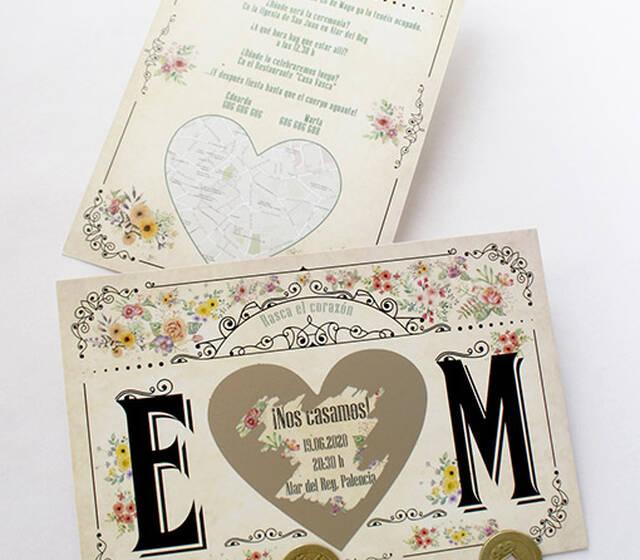 Invitaciones de boda originales Todoinvitacion