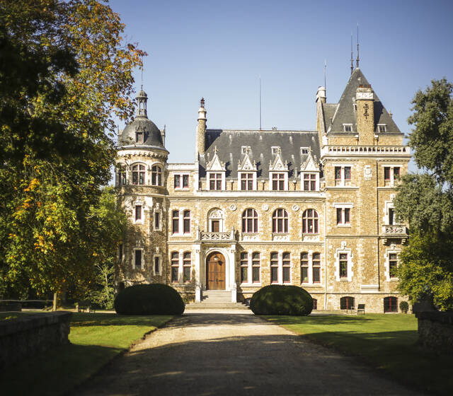 Façade Château de Méridon