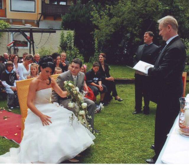 Beispiel: Ihre individuelle Trauungszeremonie, Foto: Johannes Dietl-Zeiner.
