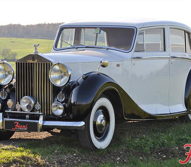 Fiani Autonoleggio: Rolls Royce Silver Wraith Hooper 1949