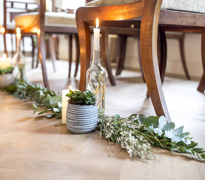 Botanical Vintage Ceremoniestyling