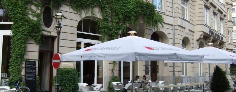 Beispiel: Terrasse, Foto: Telegraph - Café & Restaurant.