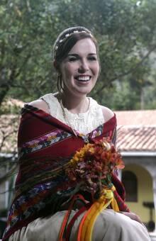 Boda Andina de Ally y Scott Valle Sagrado de los Incas Cusco-Peru Diciembre, 2015