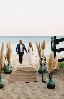 Mariage bord de mer - Ile de Ré - ©MG Events - Mariage Ile de Ré