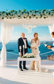 Александр и Екатерина | Греция, о.Санторини