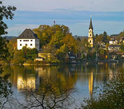 Beispiel: Außenansicht, Foto: Schloss Mattsee.