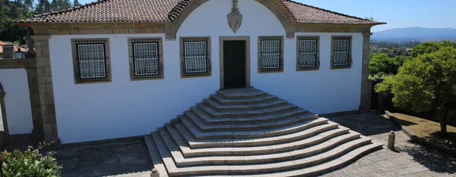 Fachada da Quinta do Outeiro de Ponte de Lima
