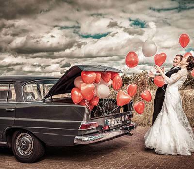 Beispiel: Hochzeitsfotos der ganz besonderen Art, Foto: Kajul Photography.