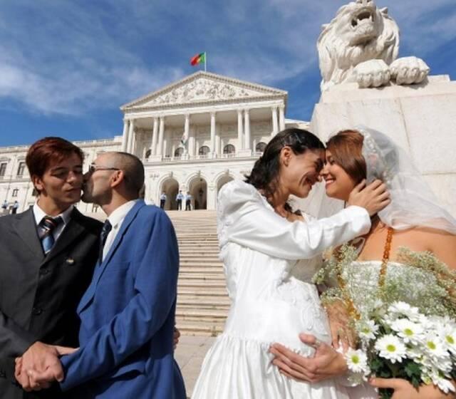 Casar em Portugal: Sem restrições / sem discriminações