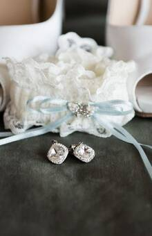 Accessoires der Braut