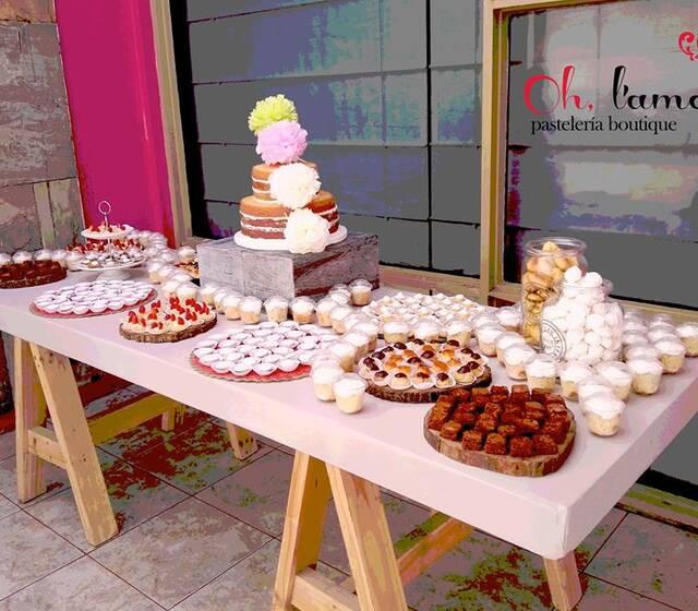 900 bocaditos + Naked Cake