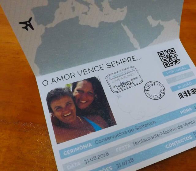 FUN Presents | Convites de Casamento