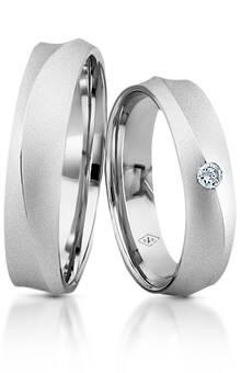 Desde 885 euros Alianças Rainier Grace Dos Santos Jewellery em ouro branco e diamante