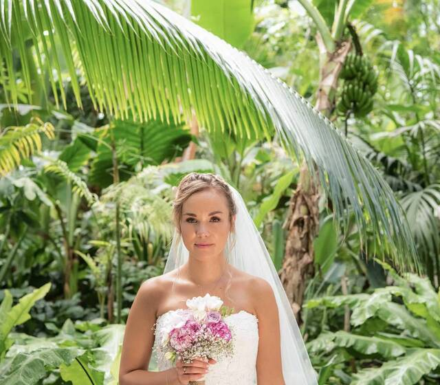 Real Wedding Shooting im Botanischen Garten