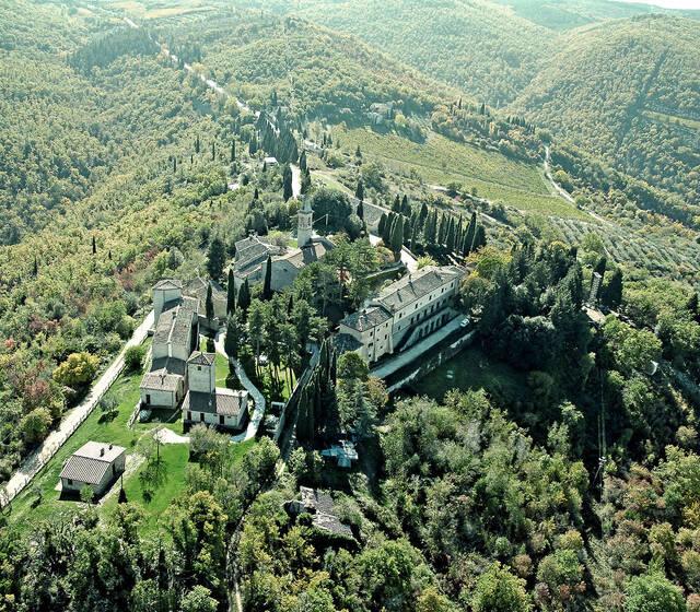 Panorama del Borgo di Pietrafitta