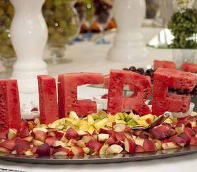 Beispiel: Mit Liebe zubereitet, Foto: Königskraut Catering.