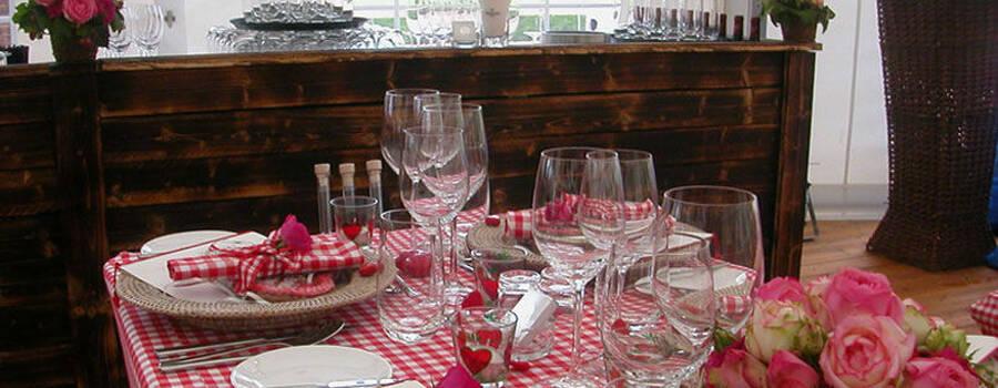 Beispiel: Hochzeitscatering, Foto: Dahlmann Catering.