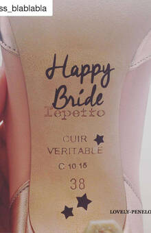 Happy Bride la Repetto :) de Paloma