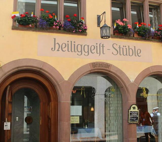 Beispiel: Außenansicht, Foto: Restaurant & Weinstube Heiliggeist Stüble.