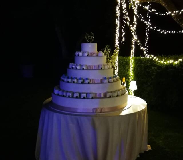 Romantic Wedding in Verona - Wedding cake