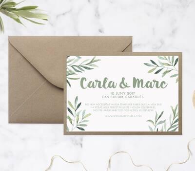 invitaciones de boda once upon a cake
