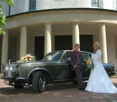 Beispiel: Brautpaar, Foto: MK - Limousinen München.
