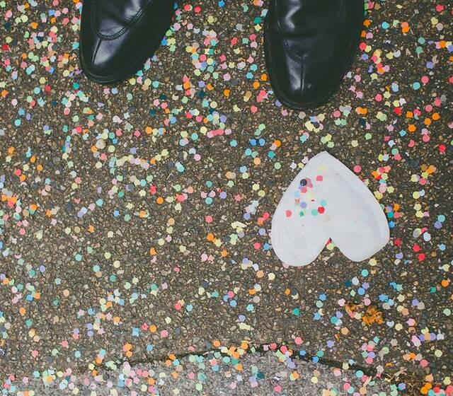 © Un confetti dans ma basket