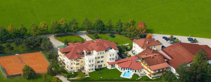 Beispiel: Luftbildaufnahme, Foto: Hotel Eichingerbauer.