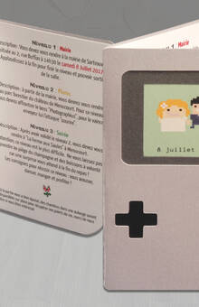 Faire-part GameBoy