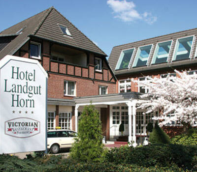 Beispiel: Außenansicht, Foto: Hotel Landgut Horn.