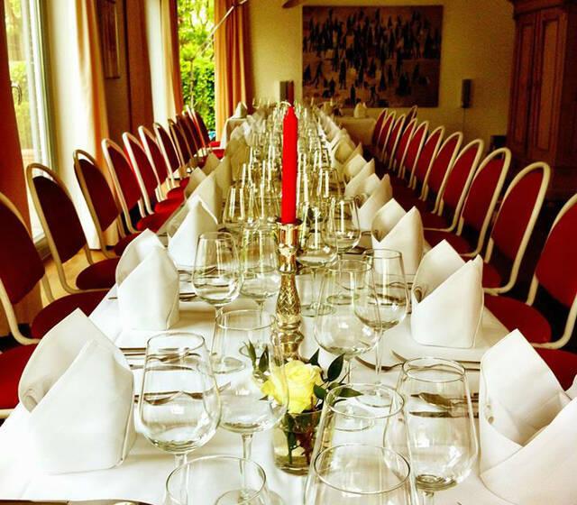 Beispiel: Räumlichkeiten, Foto: Restaurant Gänsbauer.