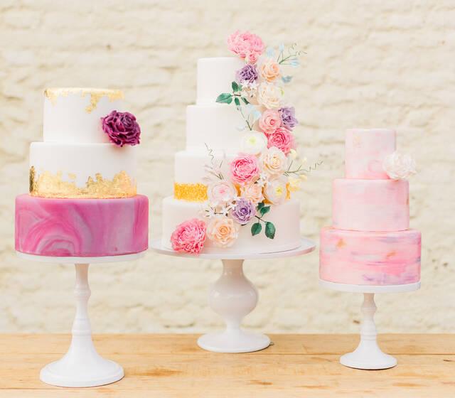 Sweet Vibes Wedding Cakes (Elisabeth van Lent Photography)