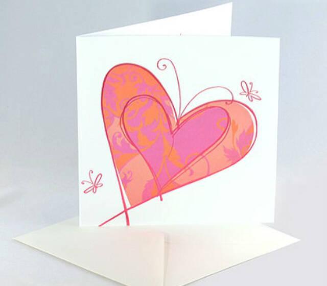 Beispiel: Einladungskarten zur Hochzeit, Foto: Karten und mehr.