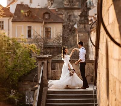 Свадебная фотосъемка в Праге