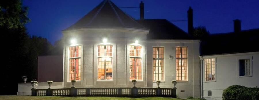 Château du Breuil - Rotonde nuit