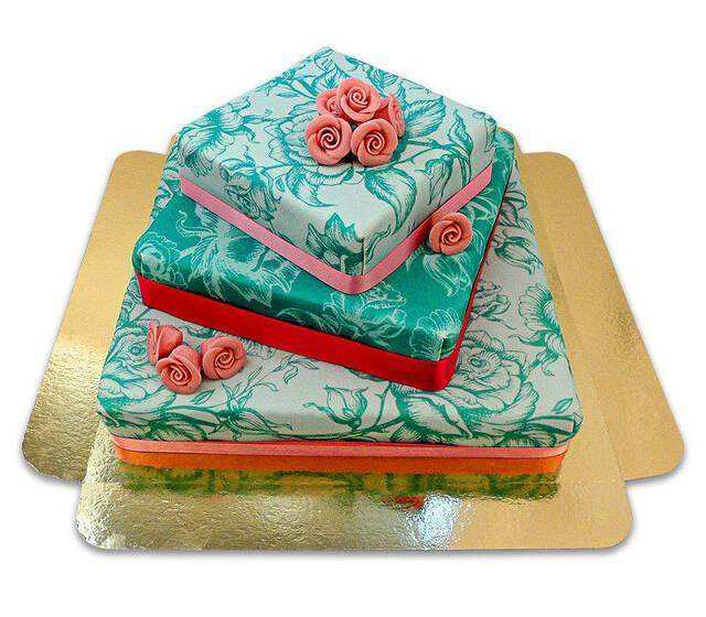 Beispiel: Einzigartige Hochzeitstorten, Foto: Deine Torte.