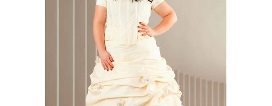 Beispiel: Brautkleid, Foto: Rubensengel.