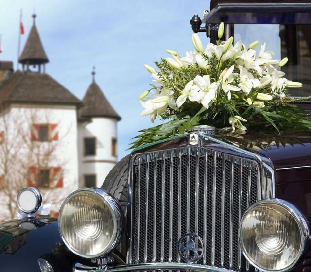 """Foto: Tag der Hochzeit auf """"Schloss Münichau"""""""