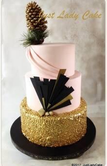 Wedding cake Réveillon chez Gatsby