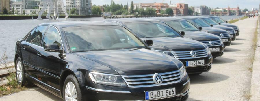 Beispiel: Ihre Hochzeitslimousine in Berlin, Foto: BBI Limousine.