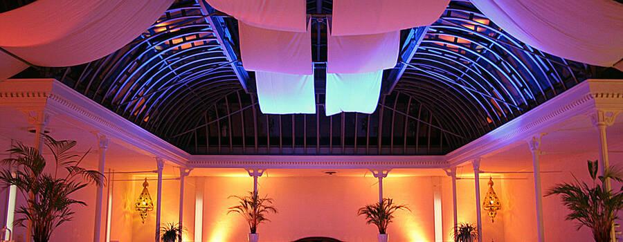 Beispiel: Innenraum, Foto: Palmenhaus Erfurt.