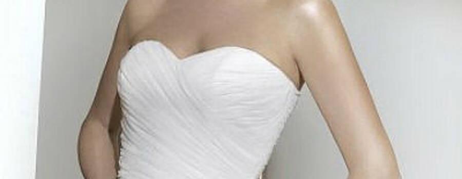 Beispiel: Brautmode, Foto: Rafaeli.